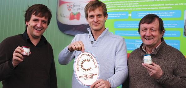 La Ferme des Peupliers reconnue Producteur de Qualité par le Collège Culinaire de France.