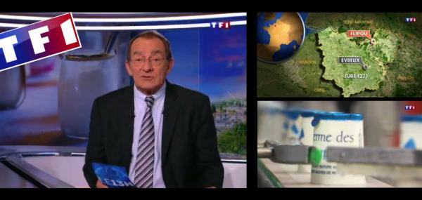 La Ferme des Peupliers dans le JT de 13h de TF1