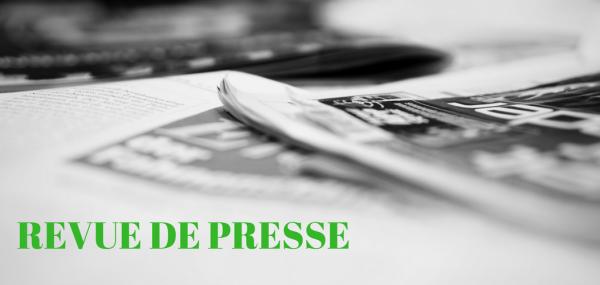 Revue de presse janvier 2018