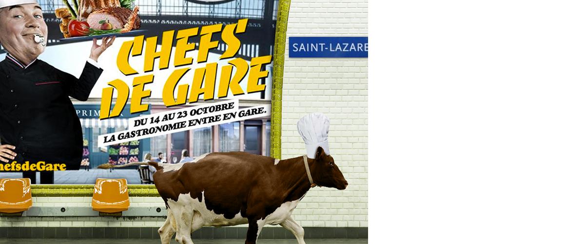 La Ferme des Peupliers à la Gare Saint Lazare