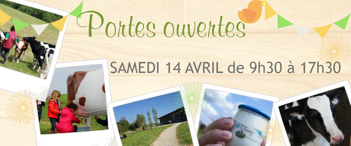Journée Portes Ouvertes Samedi 14 avril