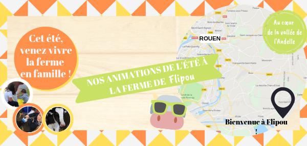 Animations de l'Eté - FERME DE FLIPOU