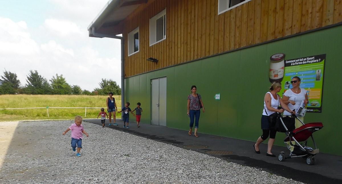 groupes scolaires visite pédagogique visiter ferme animaux découvrir pédagogique sortie famille