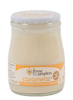 Yaourt Caramel au beurre salé