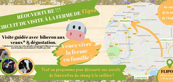Sortie en famille dans l'Eure - Circuit de visite - Ferme des peupliers