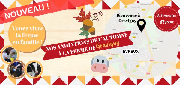 Animations de l'automne - Ferme de Gravigny
