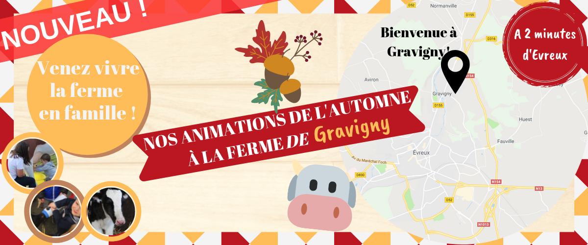 Animations d'automne Gravigny